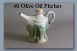Olive Oil Pitcher