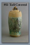 Tall Covered Jar